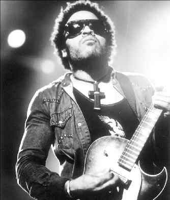 Lenny Kravitz Playing Guitar