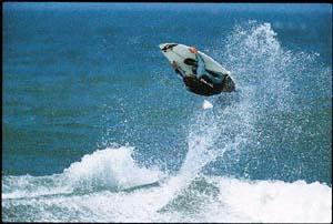 Nathan Fletcher Surfing