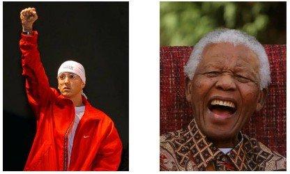 Nelson Mandela and Eminem